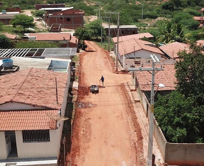 Rio do Antônio: obras de pavimentação são realizadas no distrito de Ibitira