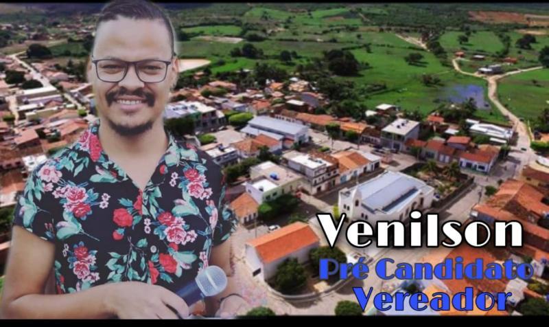 Venilson de Jesus se lança como pré-candidato a vereador em Guajeru