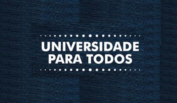 Começam nesta terça-feira as inscrições para o pré-vestibular Universidade para Todos