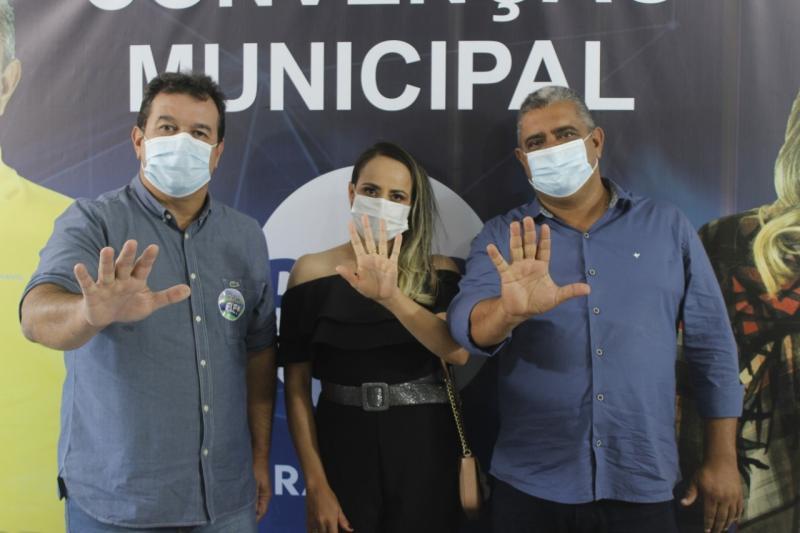 Aracatu: Convenção confirma nomes de Vavinha e Silvane como candidatos a prefeito e vice