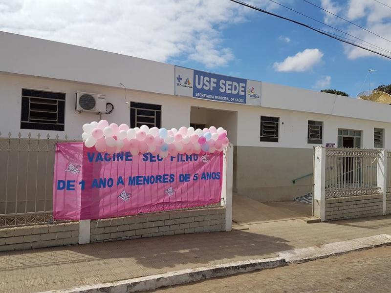 Secretaria de Saúde de Tanhaçu realiza dia D de vacinação contra Poliomielite e Sarampo