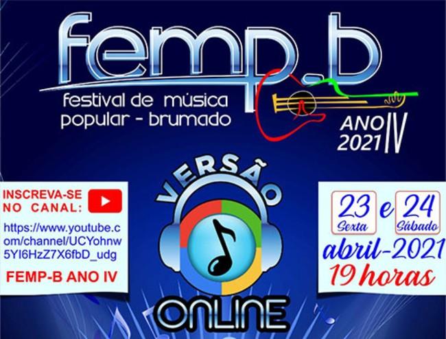 Brumado: Festival de música será realizado virtualmente, dias 23  e 24 de abril