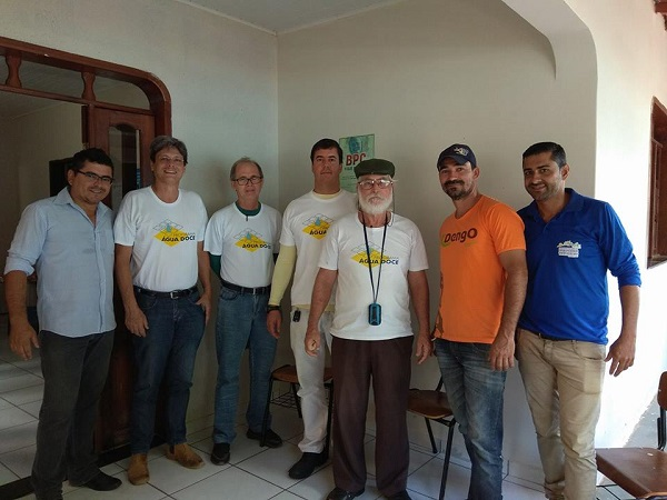 Após solicitação da prefeita de Malhada de Pedras, equipe do Programa Água Doce do Governo do Estado visita o município