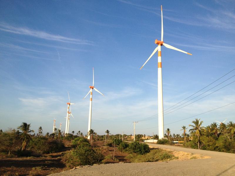Liderado pela Bahia, Nordeste bate recorde na geração de energia eólica
