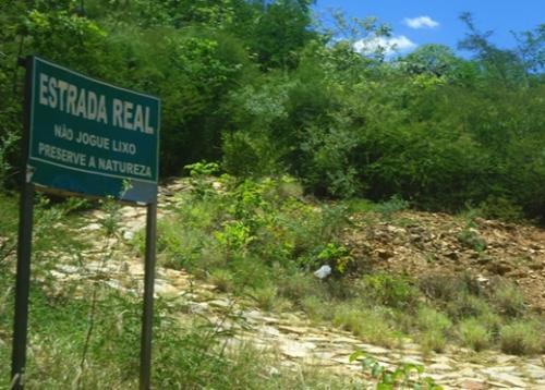 Câmara Federal debate nesta quarta a situação da Estrada Real na Chapada Diamantina