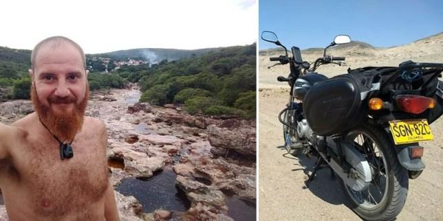 Viajante: motociclista italiano é procurado por amigos e familiares após desaparecer na Chapada Diamantina
