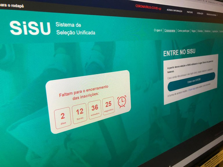 Tem início as matrículas dos aprovados na primeira chamada do Sisu