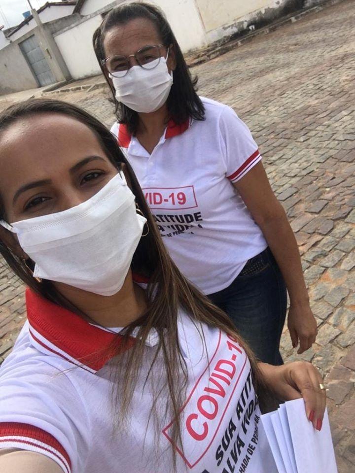 Malhada de Pedras: realiza campanha educativa para incentivo ao uso de máscara
