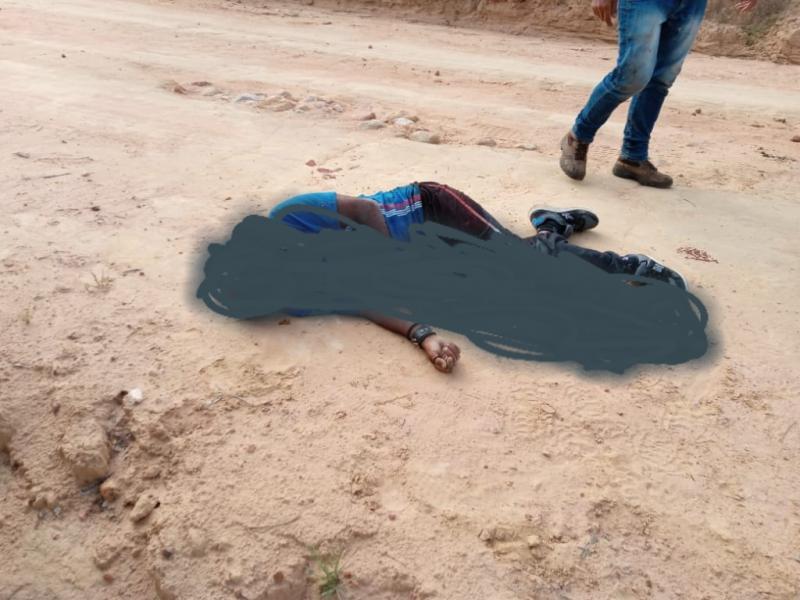 Homem é morto a facadas em Maetinga