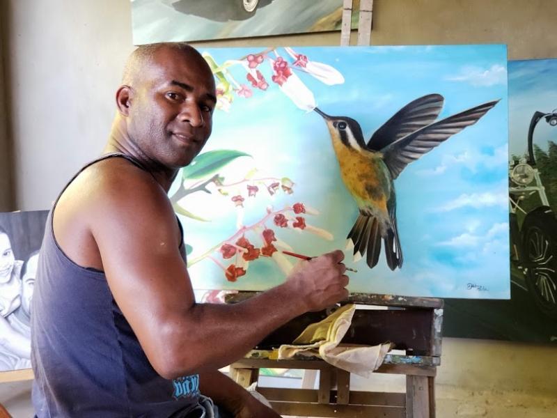 Evento internacional: Artista brumadense participa da 7ª Edição da ARTEXPO em Salvador