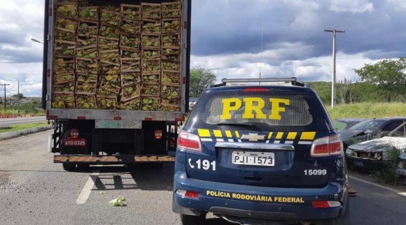 Caminhoneiro é preso com mais de 275 mil maços de cigarro contrabandeados