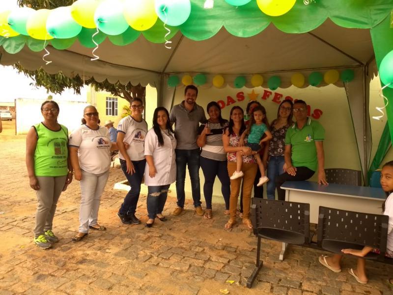 Prefeitura de Malhada de Pedras e Secretaria de Saúde realizam atividade com o grupo do Hiperdia