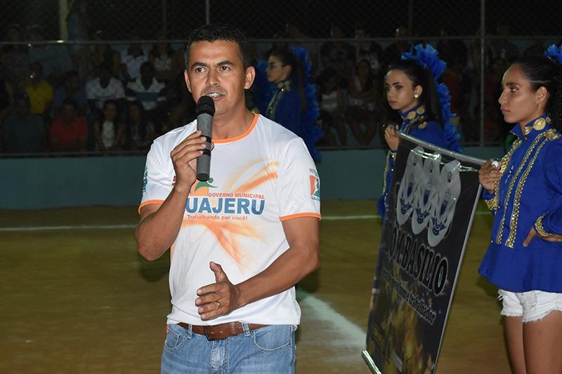 Guajeru: Evento marca a abertura da 5ª Edição do Campeonato Municipal de Futebol Society