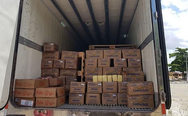 Polícia recupera 17 toneladas de queijos avaliadas em R$ 240 mil na Bahia