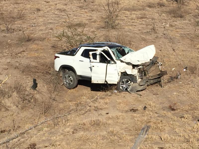 Prefeito de Guajeru e esposa passam bem apos acidente, afirma Assessoria de comunicação