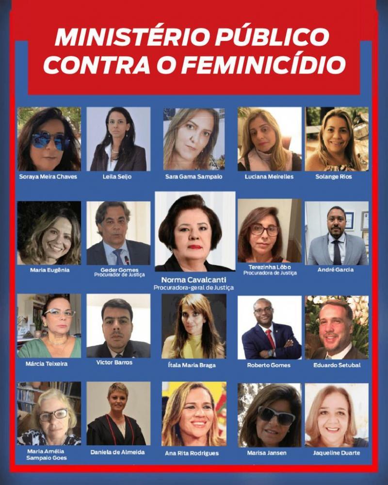 CNPG e MP baiano aderem à campanha da Copevid contra feminicídio