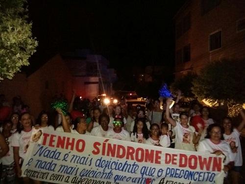 Brumadenses foram à ruas no Dia da Síndrome de Down