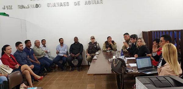 Segurança Pública foi tema de discussão em Barra da Estiva durante reunião com vários segmentos da sociedade