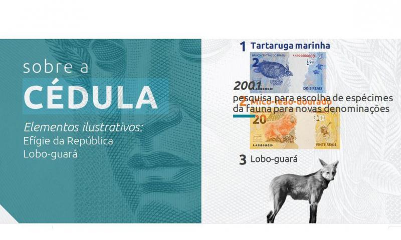 Banco Central lançará nota de R$ 200