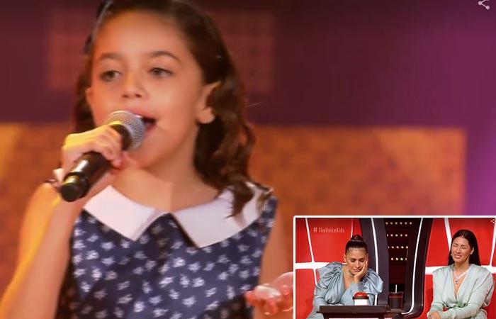 The Voice Kids: Rayne Almeida de Ituaçu faz Simone e Simaria chorarem de emoção ao cantar Folha Seca