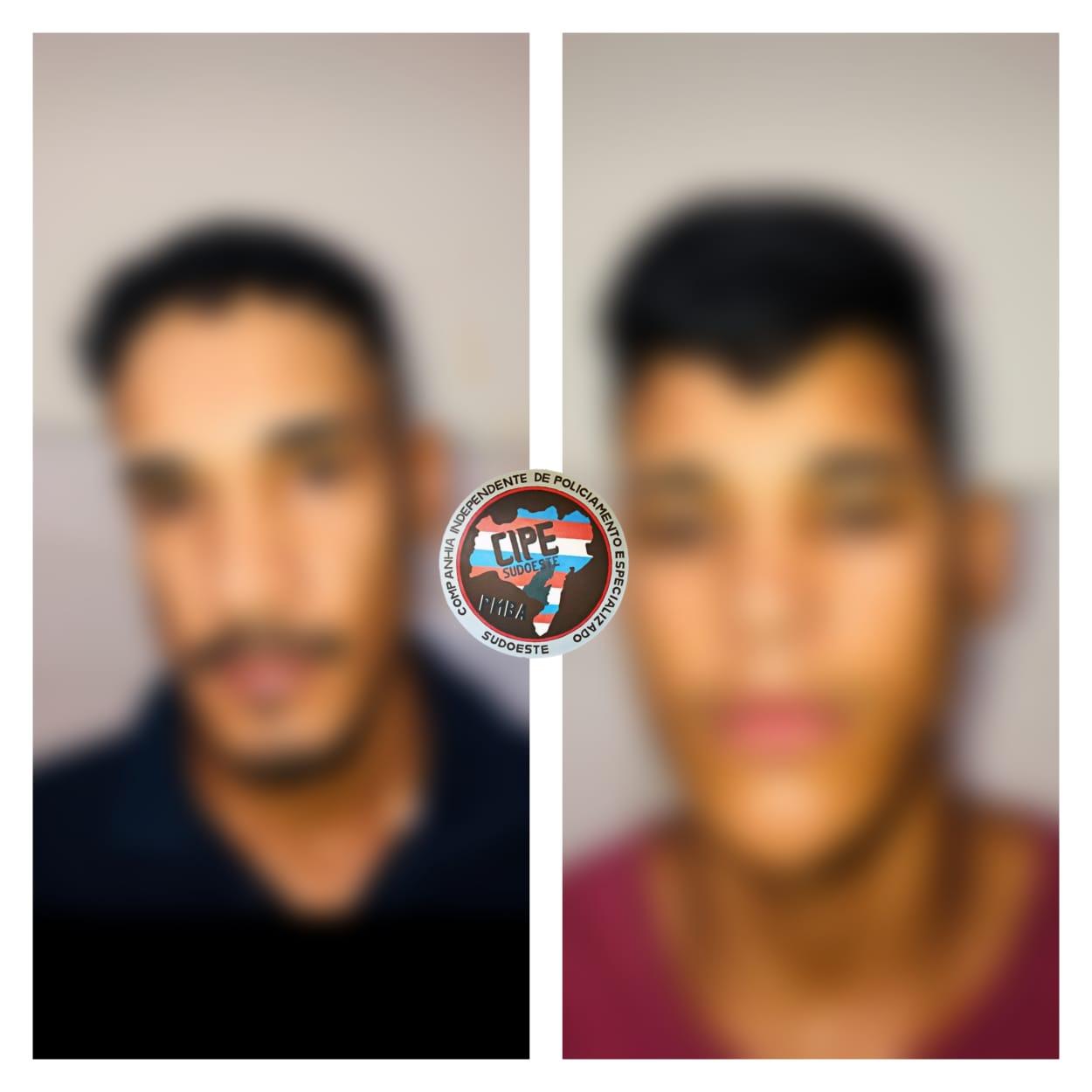 Um homem é preso e um menor apreendido pela Cipe Sudoeste com grande quantidade de drogas em Brumado