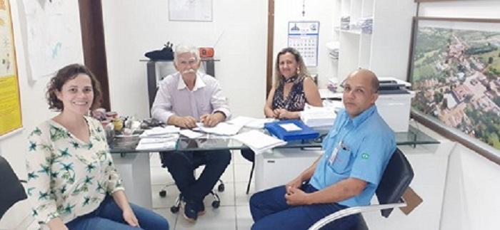 Prefeito de Brumado se reúne com representantes da Empresa Intercement e garante continuidade da parceria nos projetos sociais