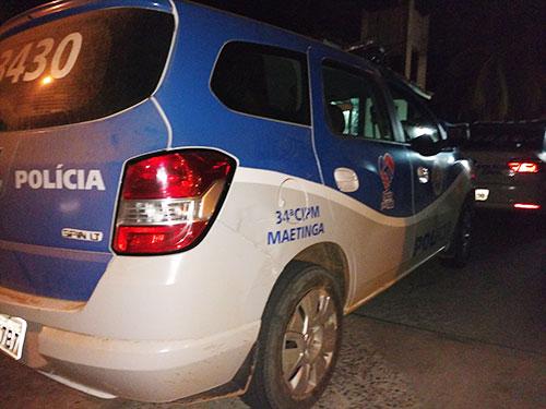 Quatro pessoas são presas por arrombamento e roubo em Maetinga