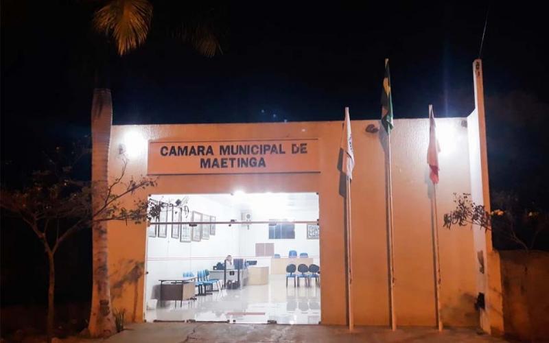 Salário dos vereadores de Maetinga é aumentado e a partir de janeiro será de mais de R$ 5 mil
