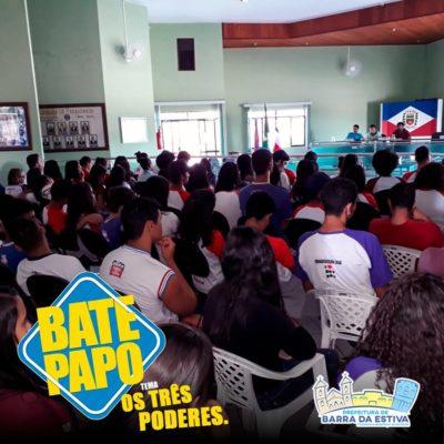 Barra da Estiva: Prefeitura e Câmara de Vereadores promovem Bate-papo sobre os três poderes