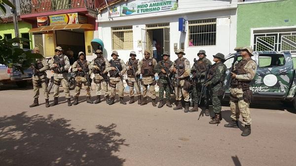 Operação Policial frustra tentativa de ocupação irregular ao Parque da Cachoeira do Buracão, em Ibicoara