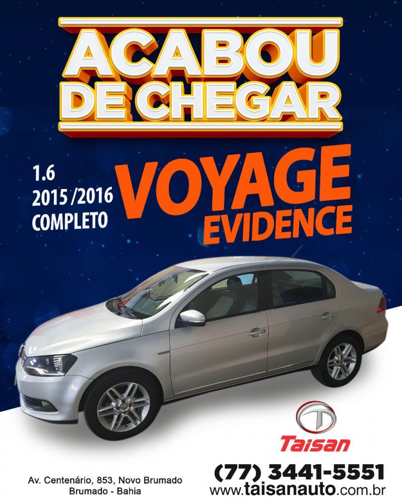 Acabou de chegar na Taisan Auto o Voyage Evidence