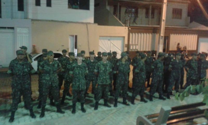 TG de Brumado participa da inauguração da Praça Nelson Lula