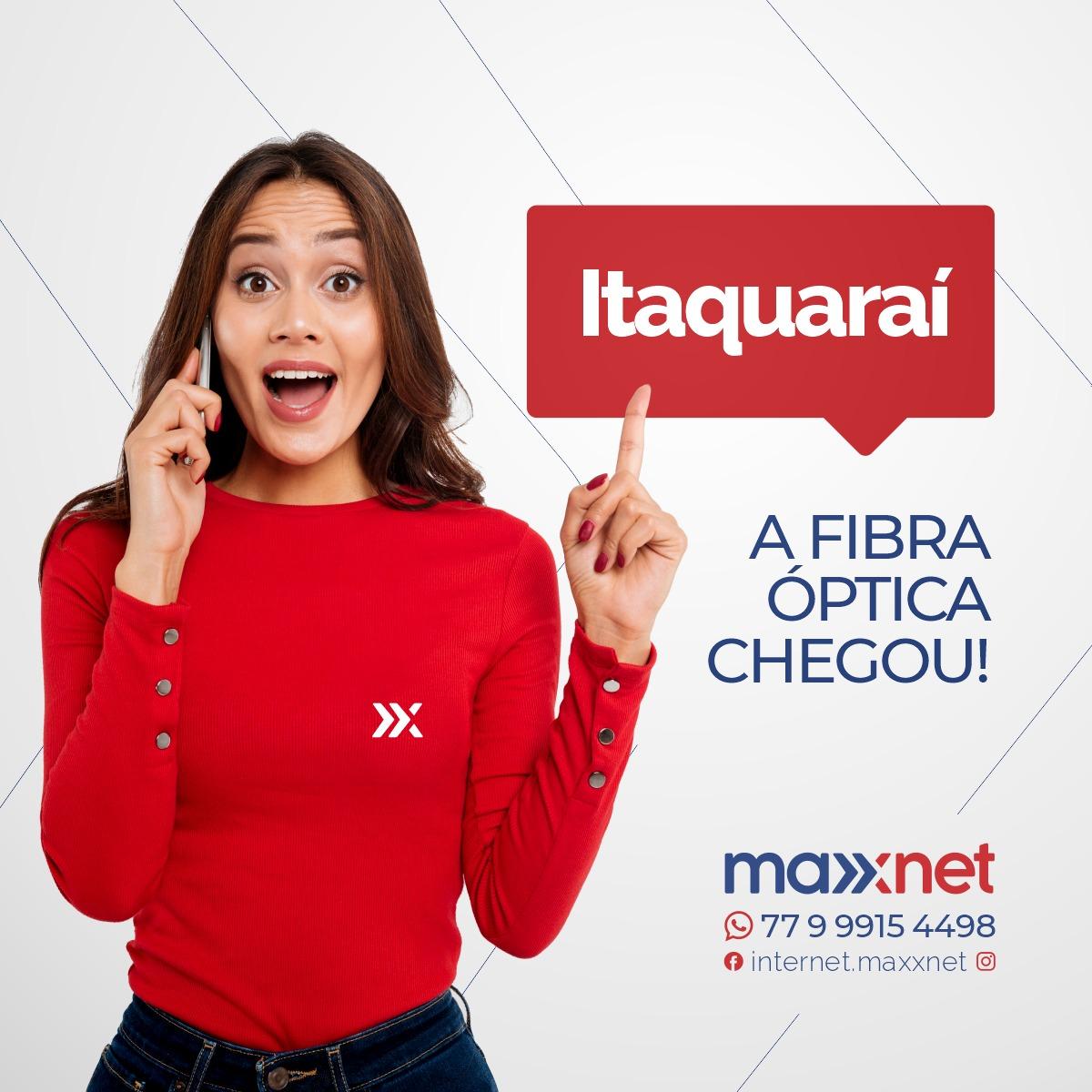 Brumado: Maxxnet chega ao distrito de Itaquaraí com internet via fibra óptica