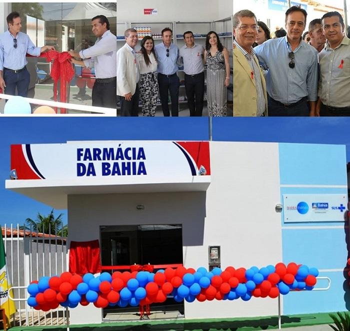 Prefeito Gil Rocha comemora 5 anos da Farmácia da Bahia em Guajeru; mais de 56.000 comprimidos das medicações mais populares são oferecidos mensalmente