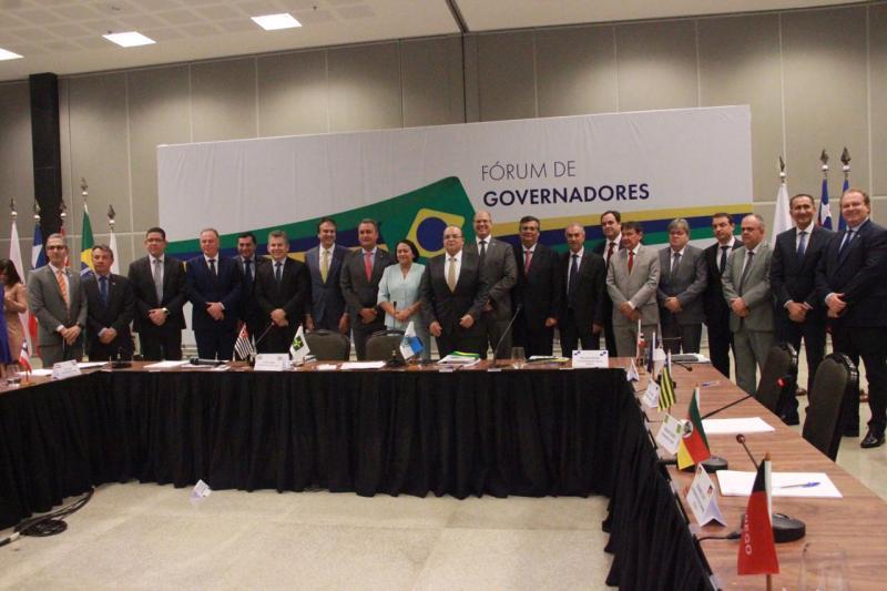 Em Fórum de Governadores, Rui Costa pede compensação previdenciária