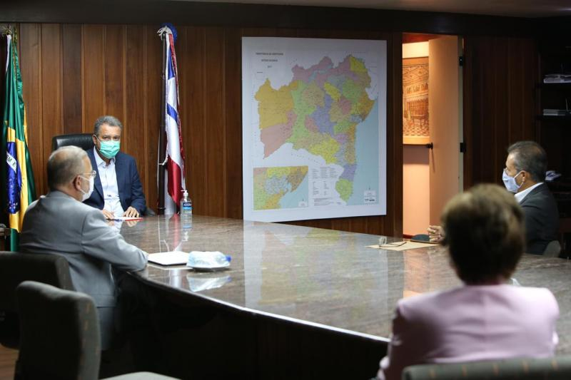 Governador anuncia apoio em testes de vacina para Covid-19 na Bahia