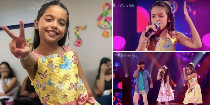 Ituaçu:  Rayne Almeida se despede do The Voice kids em grande estilo