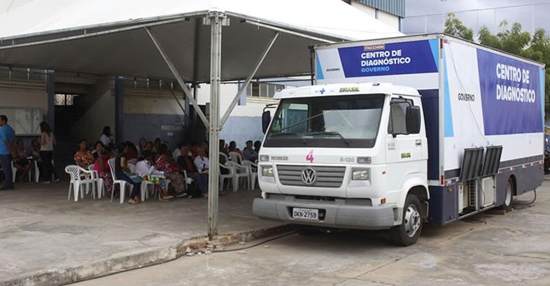 Atendimentos da Carreta da Mamografia seguem sendo realizados em Brumado