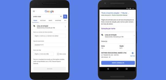 Parceria entre TSE e Google orienta eleitor sobre como votar no domingo