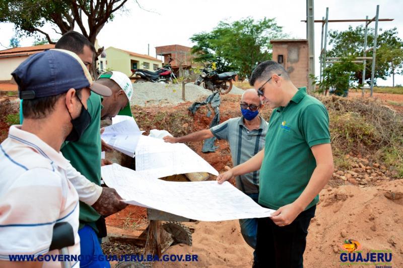 GUAJERU: QUADRA POLIESPORTIVA DA COMUNIDADE TANQUE NOVO TEM OBRAS RETOMADAS