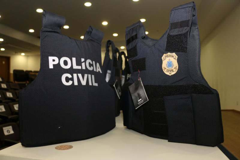 SSP-BA entrega 1500 coletes balísticos à Polícia Civil