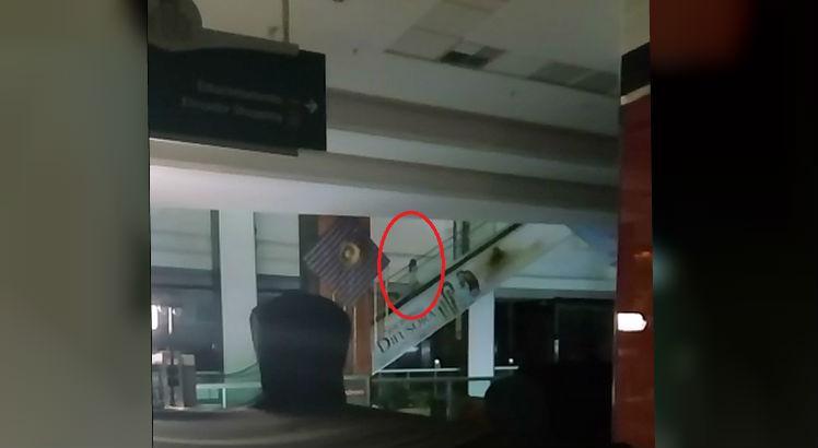 Segurança de shopping filma 'Menina Fantasma' durante a madrugada e vídeo viraliza na internet; veja
