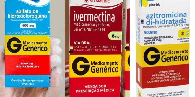 Sem eficácia comprovada, Ministério da Saúde quer distribuir 'kit covid' com hidroxicloroquina, azitromicina e ivermectina