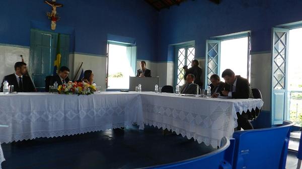 Prefeito de Ituaçu participa da Sessão de Abertura dos Trabalhos da Câmara Municipal