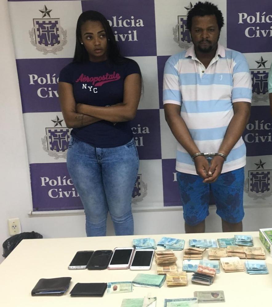 Duas pessoas são presas e R$ 16 mil são apreendidos em operação contra suborno em presídios na Bahia