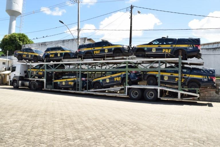 PRF na Bahia recebe mais um lote de viaturas operacionais blindadas