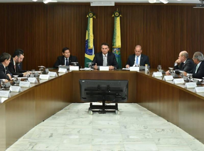 Previdência deve ser discutida em 2ª reunião ministerial de Bolsonaro