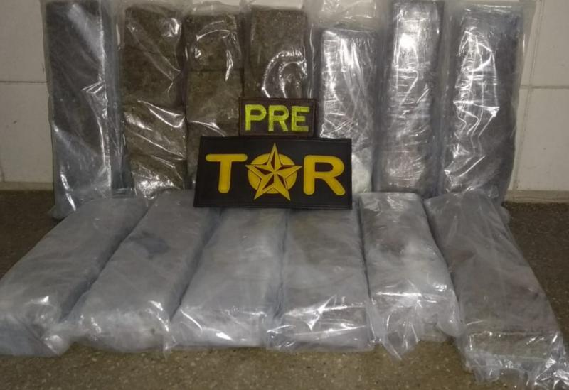 Drogas são localizadas no interior de ônibus em Brumado