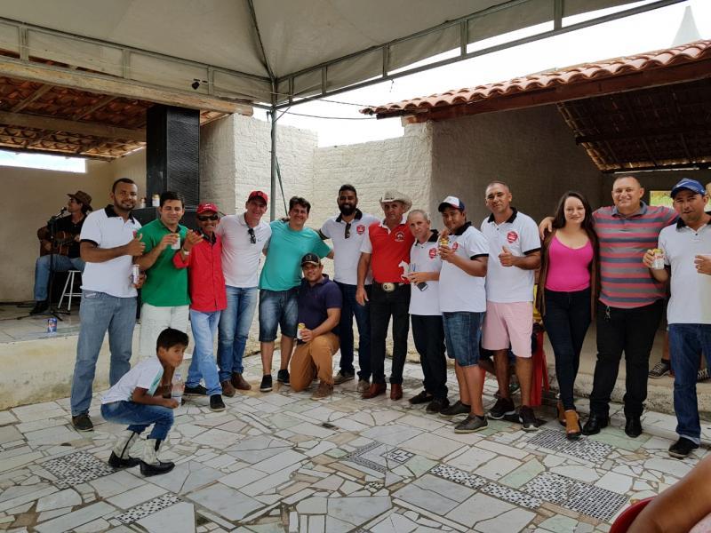 Bruno Pitombo e Amigos do Areião prestigiam Cavalgada da Fazenda Brilho da Serra no município de Mirante