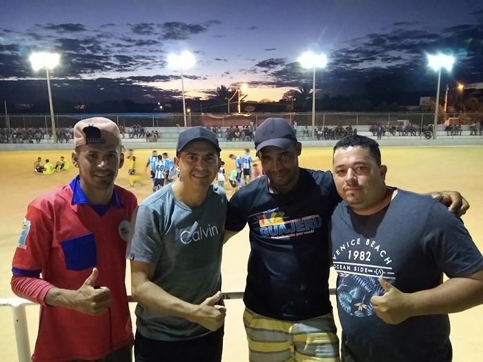 Prefeito de Guajeru acompanha torneio e valoriza o esporte da cidade